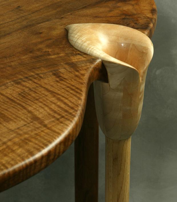 Sculptural Artistic Furniture Custom Calla Lily Tables