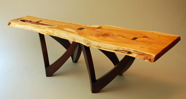 Custom Made Natural Edge Table